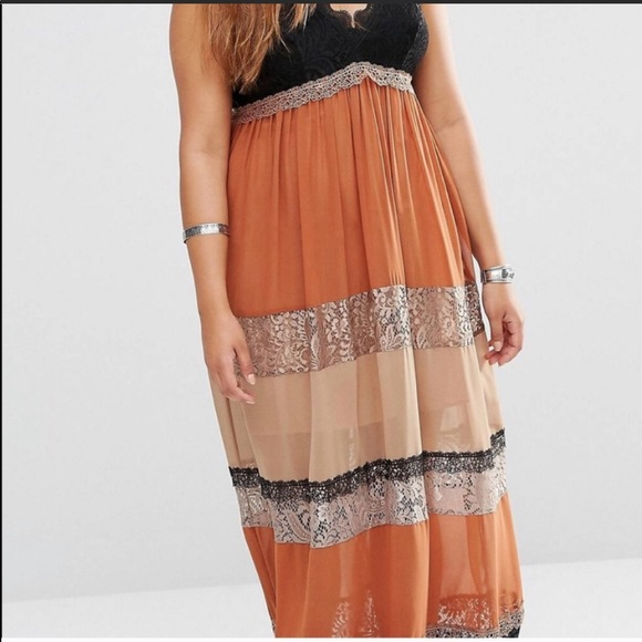 ASOS Alice & You Boho Maxi Dress size 22